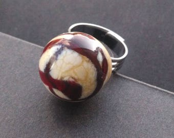 Ring: Tiny swirl candy