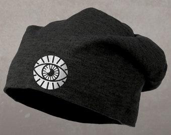 Third Eye Beanie, Slouch Style Hat