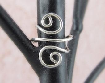 Sterling Silver Ear Cuff v2