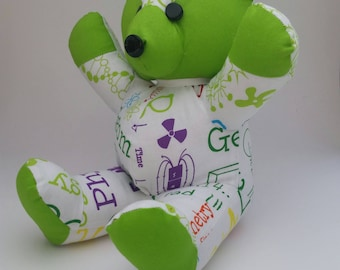 Science Bear. Green.