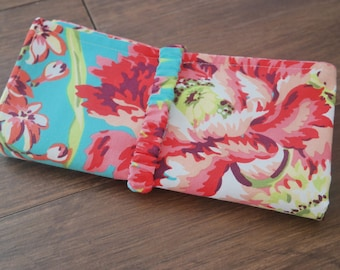 Floral Baby Travel Changing Pad- RTS