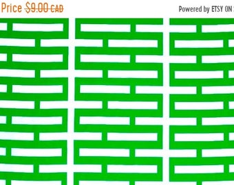 10% OFF - Classic Green - IKEA Avsiktlig Cotton Fabric