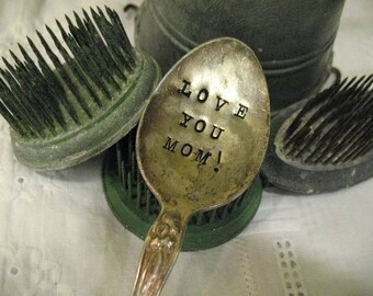 Vintage Silverware Garden Marker for Mom