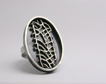 Sterling Silver Ring - Handmade - Sterling Silver