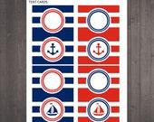 PRINTABLE blank nautical ...