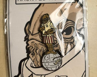 Haunted Ackbar Pin