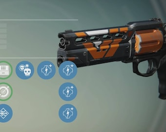 The Devil you Know hand cannon from Destiny (pre-order)