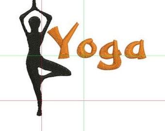 Dollar off sale Yoga embroidery design