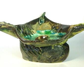 Bird Ceramic Sculpture