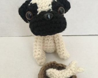 Crochet Mini Pug