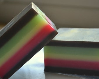 Rainbow Cookie Soap - AN AJSWEETSOAP EXCLUSIVE - Bakery Soap - Cookie - Food Soap