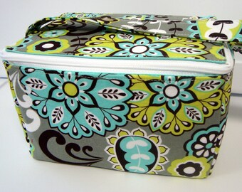 Super Large 6 inch Depth Fabric Coupon Organizer  - With ZIPPER CLOSER Choose Your Fabric