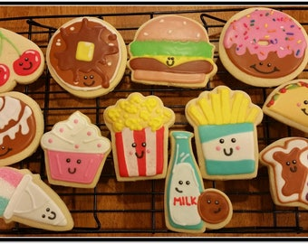 Fun With Food Cut Out Sugar Cookies 1 Dozen
