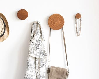 Coat hooks wooden wall hooks entryway wall hooks modern coat hooks round wall hooks decorative wall hooks sapele african mahogany