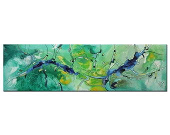 """Abstract Oil-painting, Original Art by BO The Artmakers : """"NORMAL"""", Gallery of modern & contemporary  Art"""