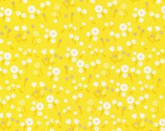SALE!! 1/2 Yard  Stay Gold by Aneela Hoey for Cloud 9 Fabrics- 160508 Marigold Pollen