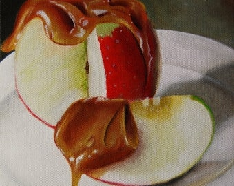 Caramel Apple Print