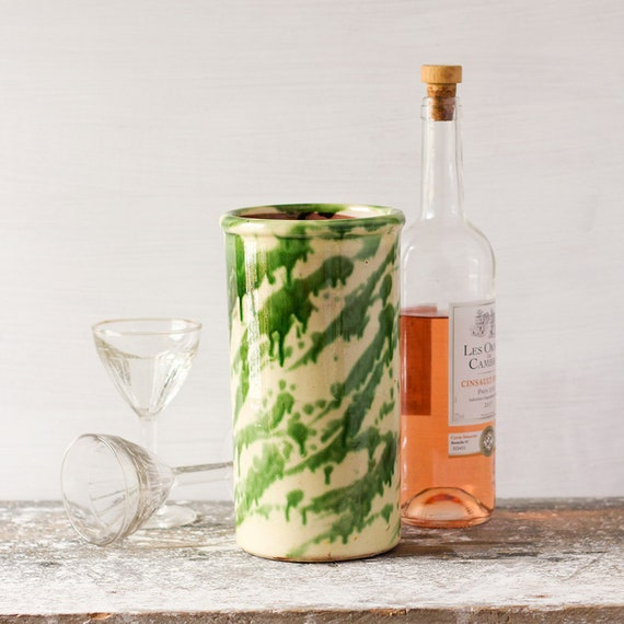French Splatterware Wine Cooler