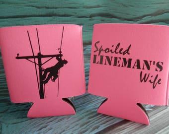 SPOILED Linemans Wife Cozy