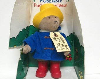 Paddington Bear Poseable Figure Toy Eden Gift