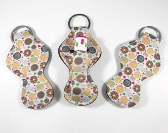 Chapstick Holders, Chapstick Keychain, Chapstick Holder Cookies
