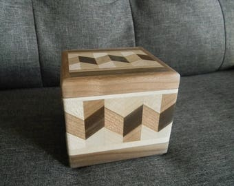 Wooden Jewelry Box (Small Size)