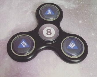 Magic 8 Ball Custom Fidget Spinner - Fortune Teller - Magic 8 Ball - Spinner
