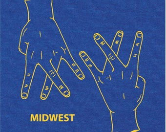 MIDWEST LIFE! - T-shirt - Screen Printed