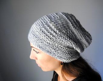 CHROMITE Hat Knitting Pattern PDF