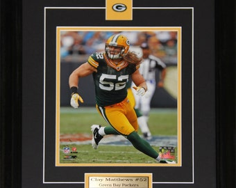 Clay Matthews Green Bay Packers 8x10 Frame