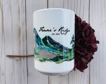 Fraser's Ridge Outlander-Inspired Coffee Mug