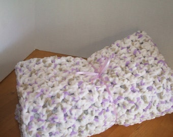 Baby Blanket - super soft and chunky