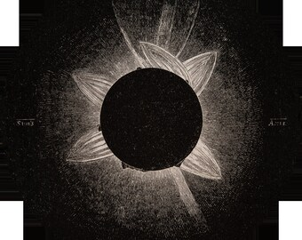 Corona as Observed by Liais, 1857