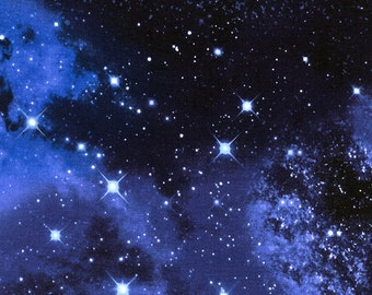 Galaxy Space Timeless Treasures 0,5 m USA fabric pure cotton