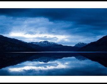 Blue Hour Landscape Photography Print
