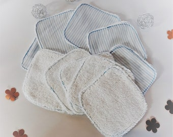 Reusable wipes baby & cleansing