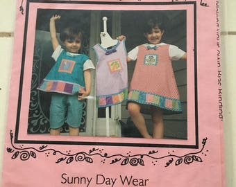 Peas & Carrots Sunny Day Wear Toddler Girls Dress Jumper Top size 6 9 12 18 mo 2T 4T UC Uncut FF