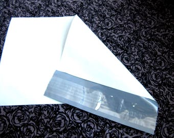 10 White Poly Mailers, 9 x 6 Inch Mailers, White Plastic Mailer, White Plastic Envelope, Poly Envelope, White Shipping Envelope, Mailing Bag