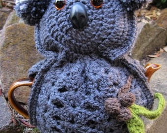 Koala Tea Cosy Crochet Pattern - PDF
