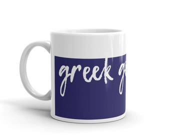 Greek Goddess Mug -- Goddess Mug -- 11 or 15 Ounce