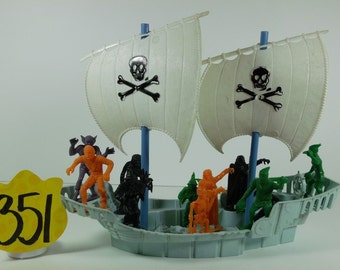 1960's MPC Monster Pirate Ship