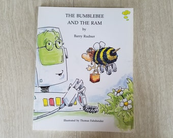 """Vintage Children's Book """"The Bumblebee and the RAM"""" By Barry Rudner"""