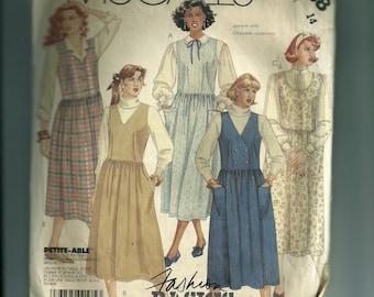 Vintage McCall's Misses' Jumper Pattern 3238