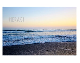 Beach Sunset 3 Photo Set