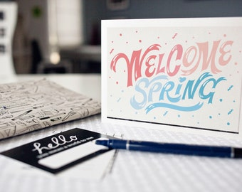 Postcard: welcome spring