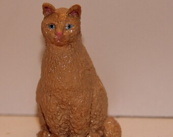 Cream Cat, 100% Handmade