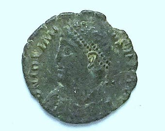 Jovian; Ancient Roman Bronze Coin; Heraclea Mint