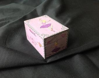 OOAK tooth fairy or trinket box