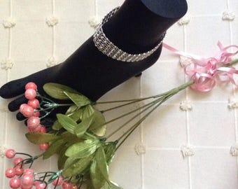 Handmade Bling Anklets
