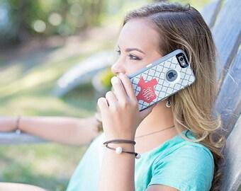 Custom Otterbox Defender Phone Case | Clover Otterbox Defender for iPhone 7, iPhone 7 Plus, iPhone 6/6s, iPhone 6 Plus, iPhone SE, Galaxy S7